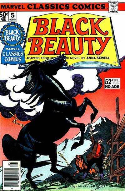 Marvel Classics Comics Series Featuring Black Beauty Vol 1