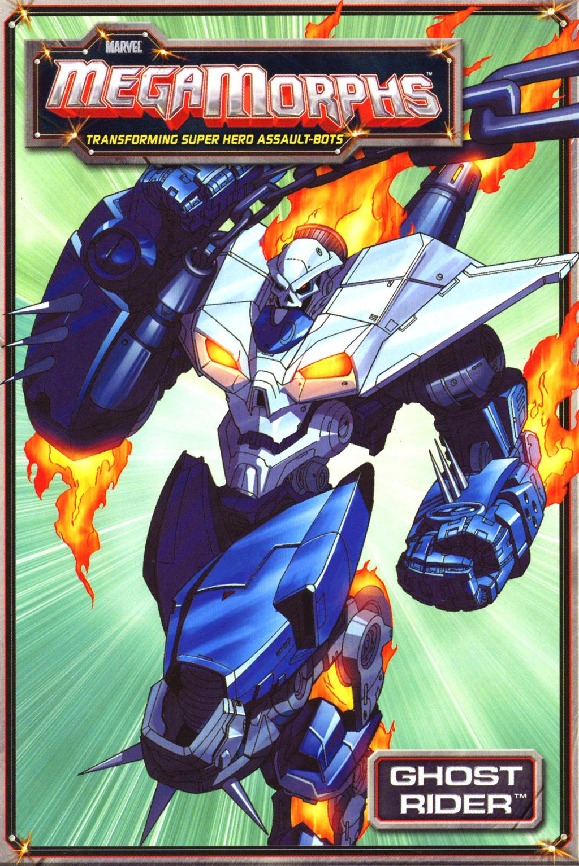 Marvel MegaMorphs: Ghost Rider Vol 1 1
