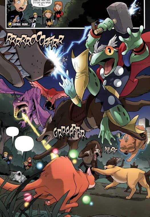 Pet Avengers (Earth-5631)/Gallery