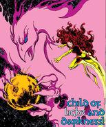 Phoenix Force (Earth-616) from X-Men Vol 1 136 001