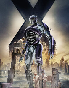 Sentinel Mk I (Earth-TRN414) from X-Men Days of Future Past Promotional 0001