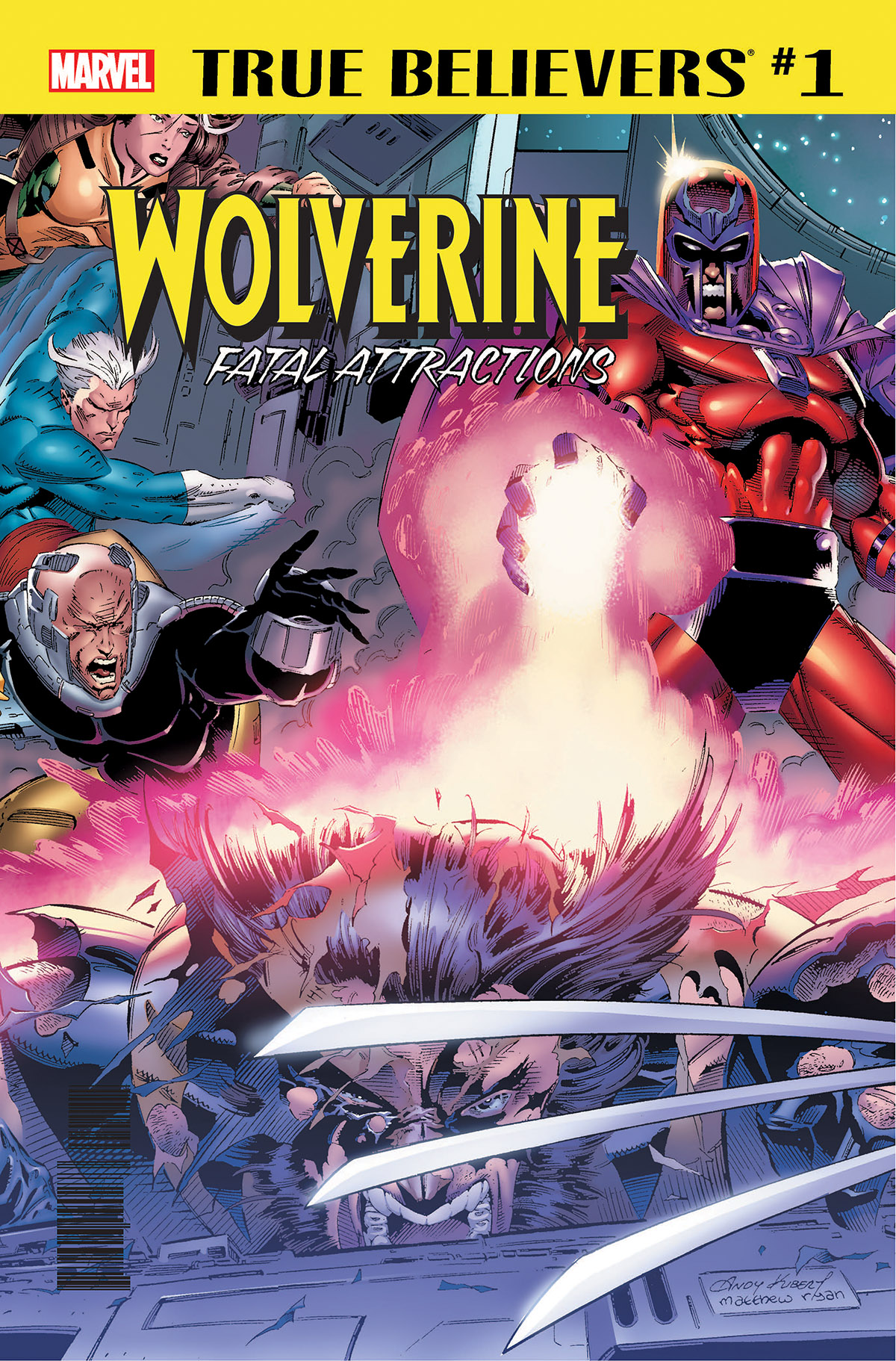 True Believers: Wolverine - Fatal Attractions Vol 1 1