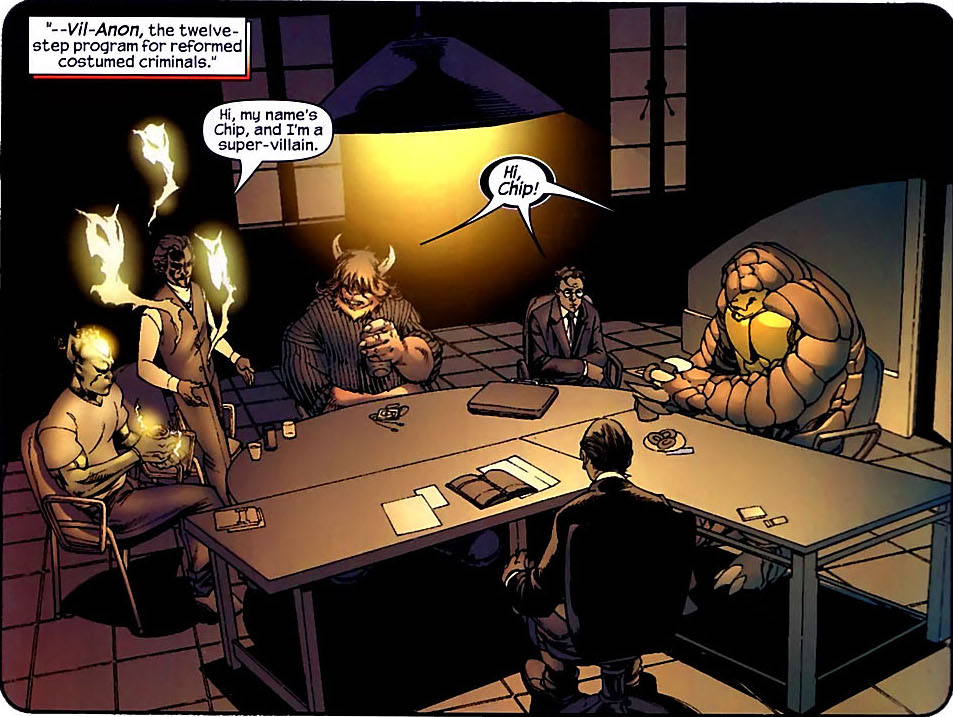 Villains Anonymous (Earth-616)/Gallery