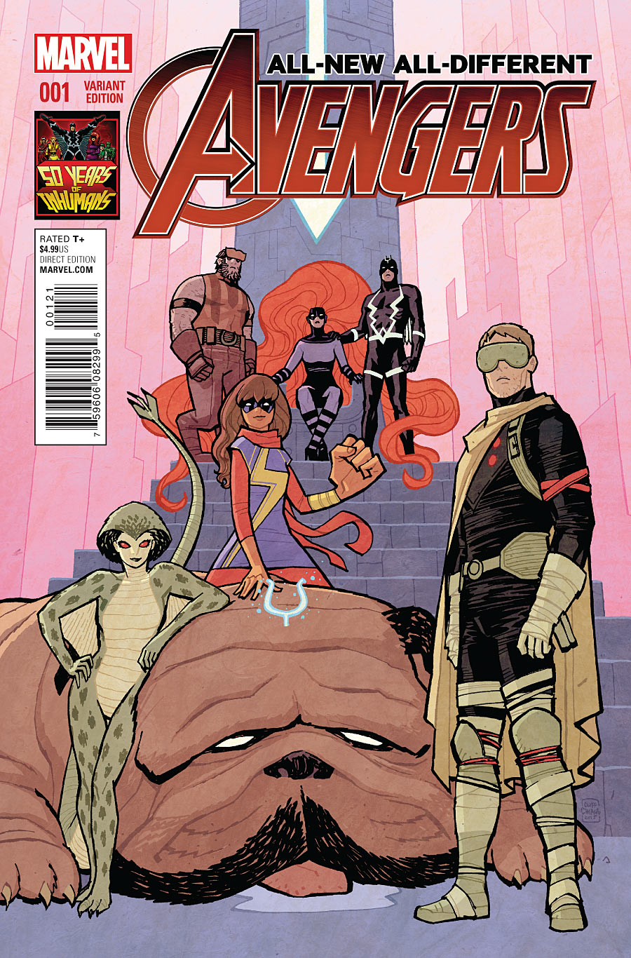 All-New, All-Different Avengers Vol 1 1 50 Years of Inhumans Variant.jpg