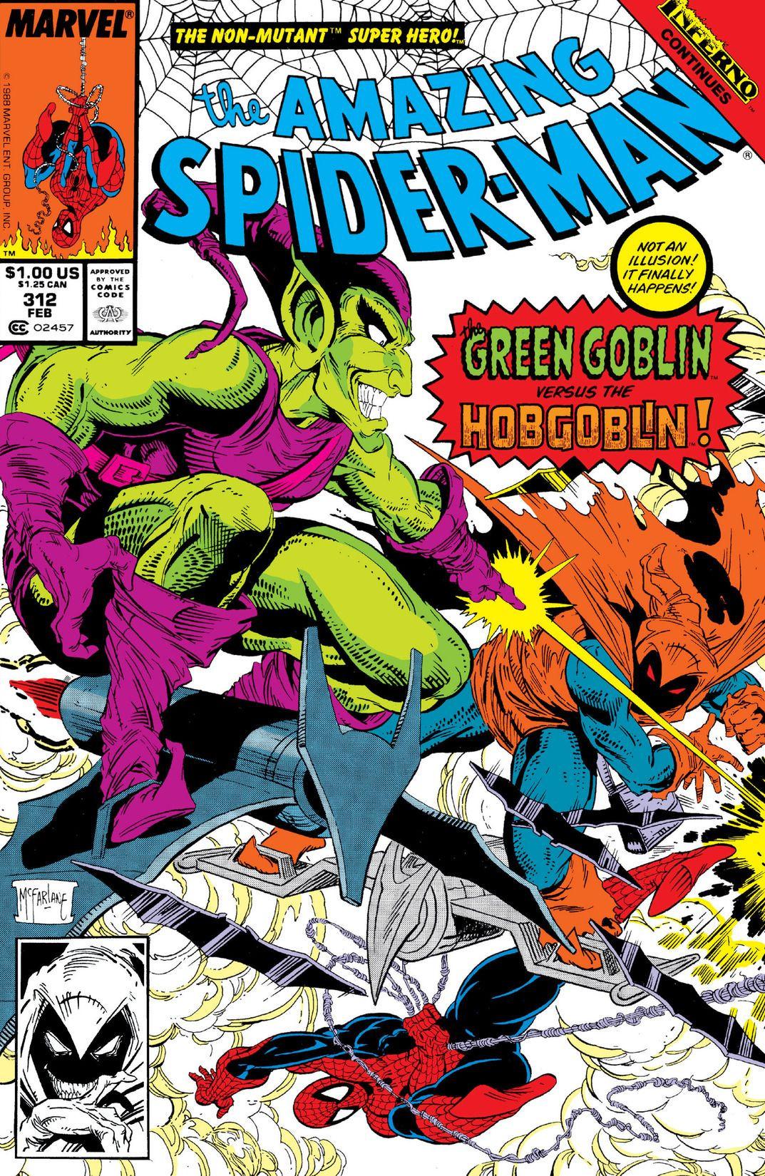 Amazing Spider-Man Vol 1 312