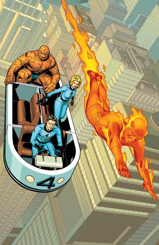 Amazing Spider-Man Vol 5 4 Return of the Fantastic Four Variant Textless.jpg