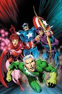 Avengers Vol 7 1.1 Davis Variant Textless