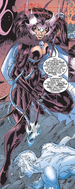 Cal'syee Neramani (Earth-32000) from X-Men Unlimited Vol 1 26 0001.jpg