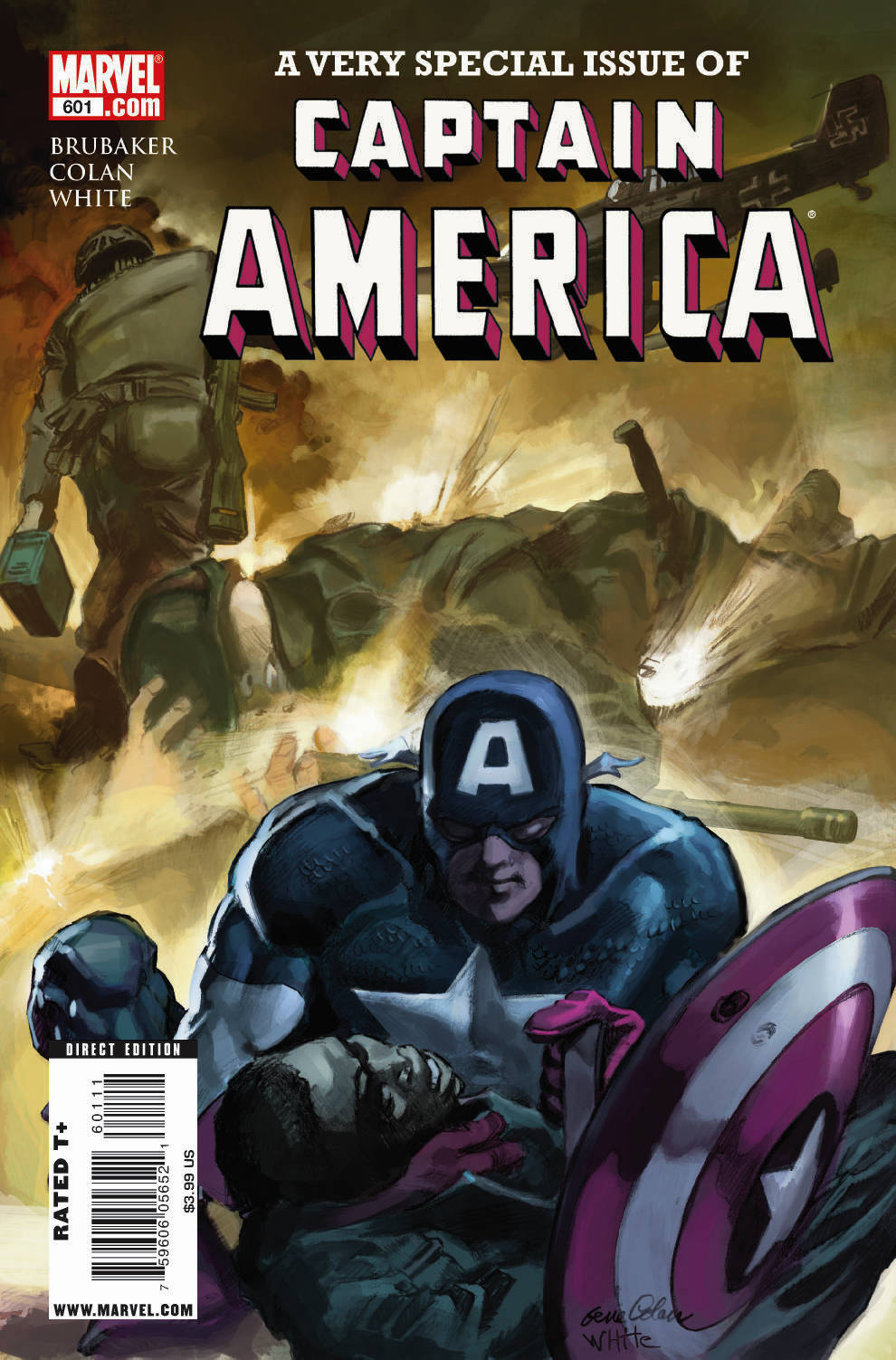 Captain America Vol 1 601