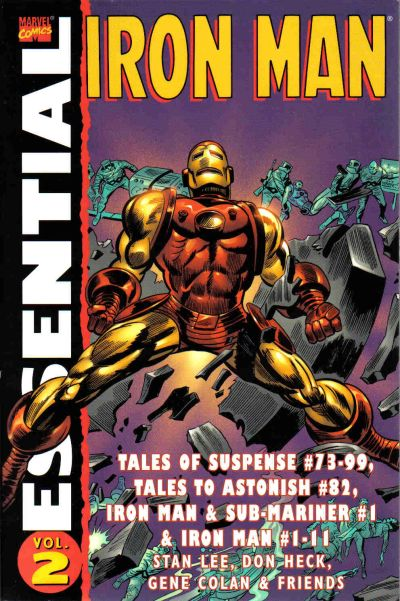 Essential Series: Iron Man Vol 1 2