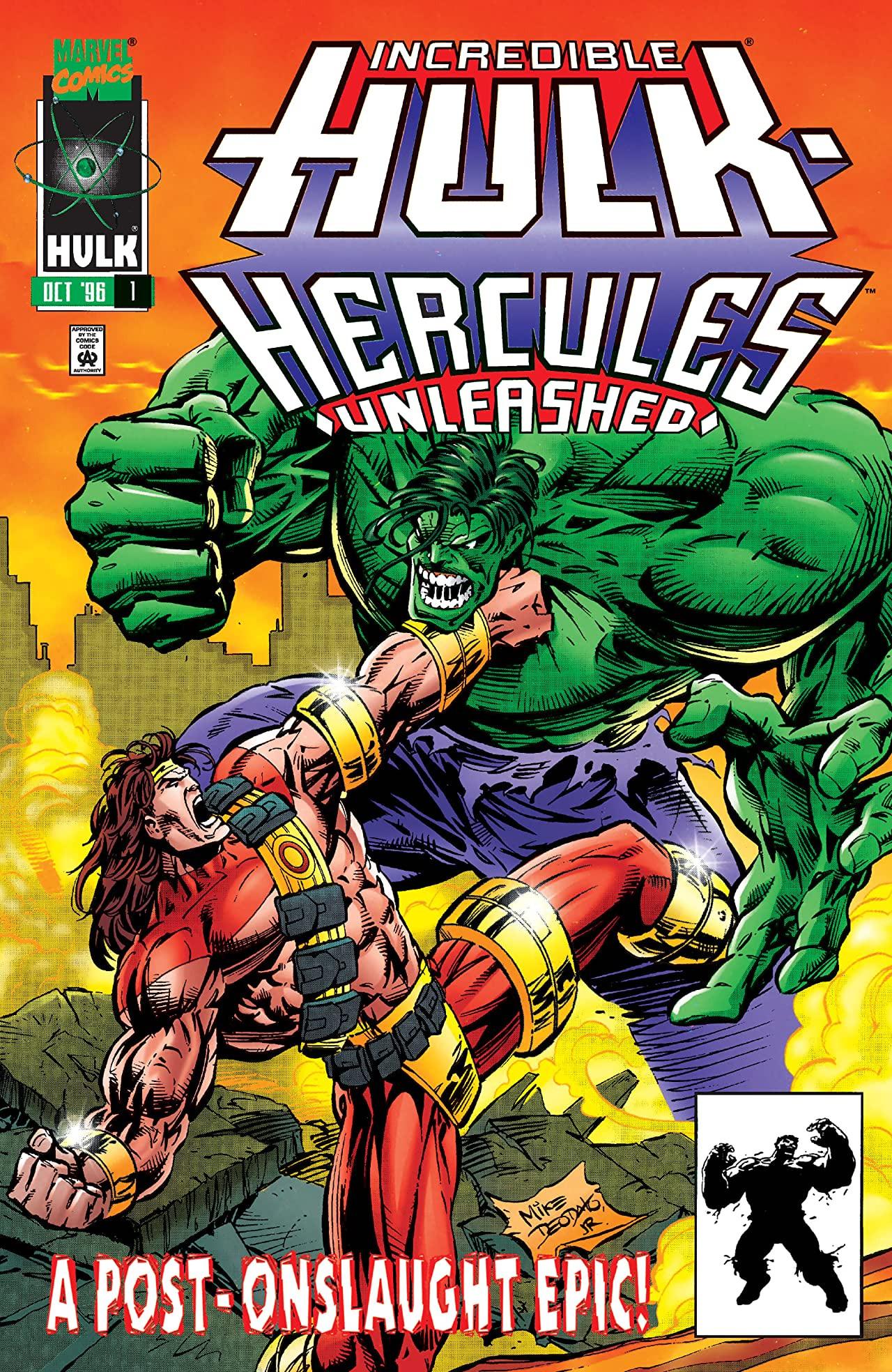 Incredible Hulk: Hercules Unleashed Vol 1 1