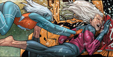 Namorita Prentiss (Earth-616) and Robert Hunter (Earth-616) from Civil War Vol 1 1 0001.jpg