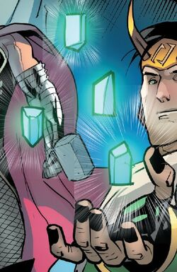 Norn Stones and Loki Laufeyson (Ikol) (Earth-616) from Loki Vol 3 1 001.jpg