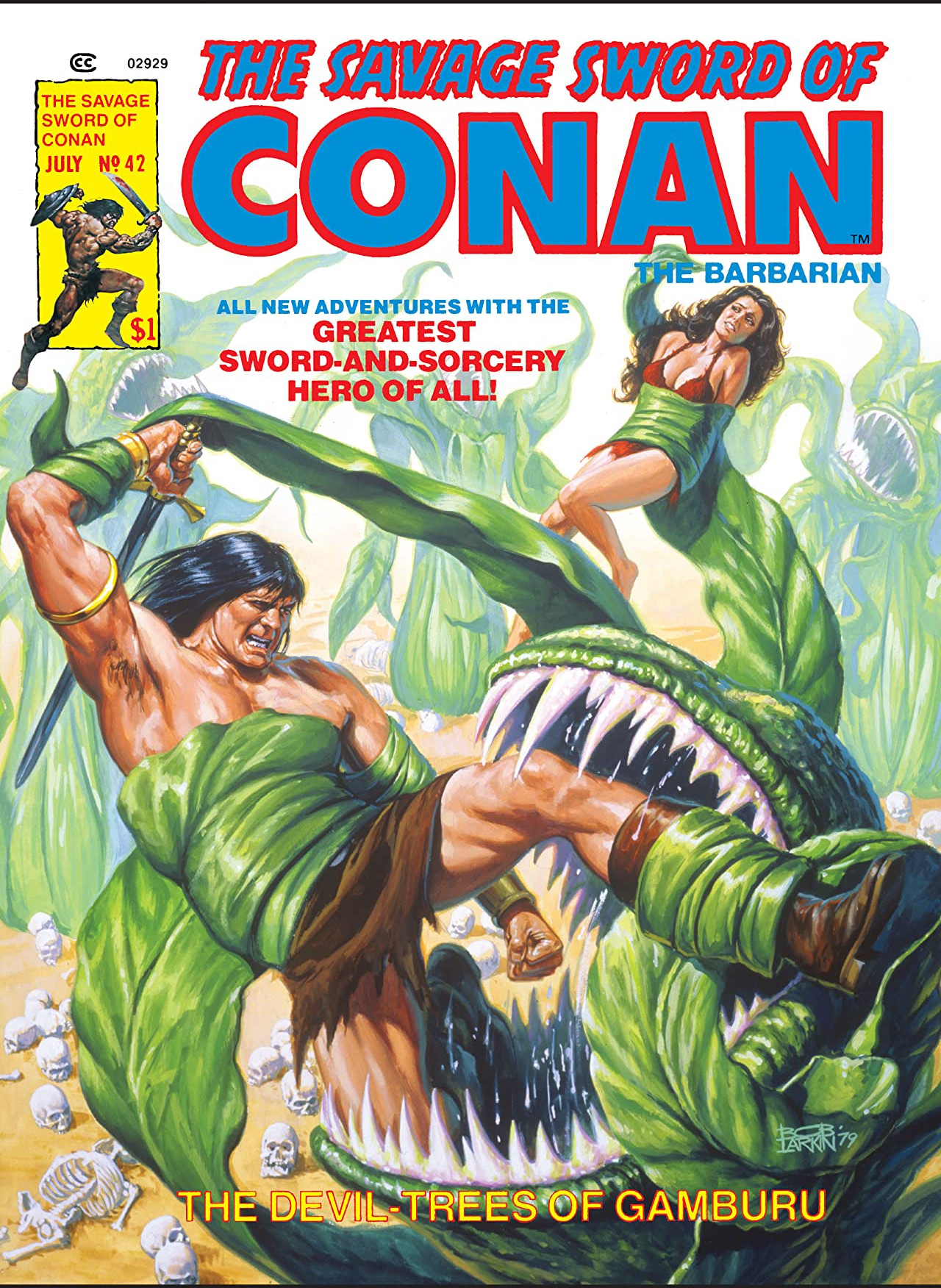 Savage Sword of Conan Vol 1 42