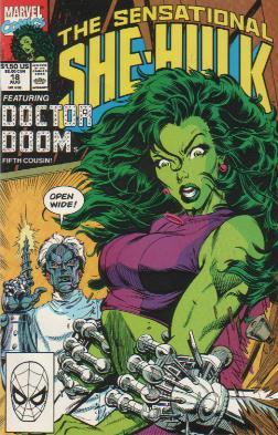 Sensational She-Hulk Vol 1 18