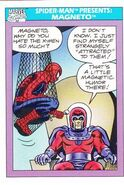 Spider-Man Presents Magneto from Marvel Universe Cards Series I 0001