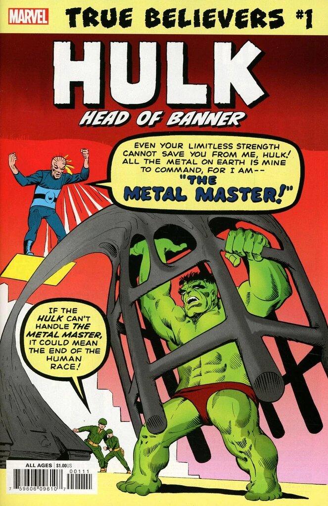 True Believers: Hulk - Head of Banner Vol 1 1