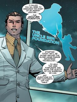 Uncle Ben Foundation (Earth-616) from Amazing Spider-Man Vol 4 1 001.jpg