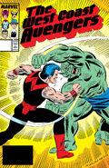 West Coast Avengers Vol 2 25
