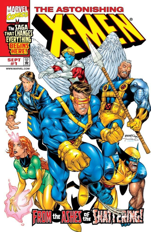 Astonishing X-Men Vol 2 1