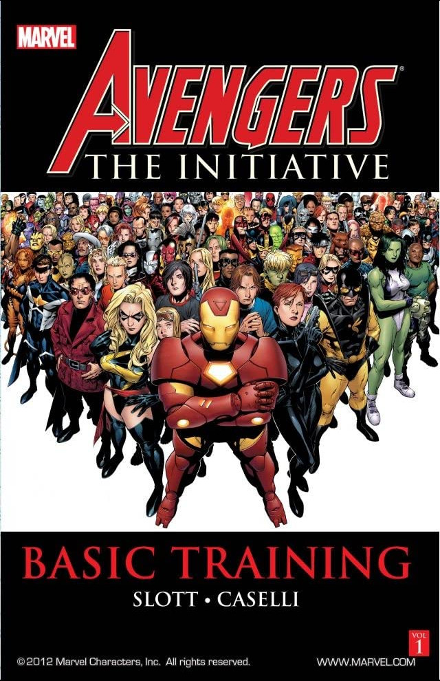 Avengers: The Initiative TPB Vol 1 1: Basic Training