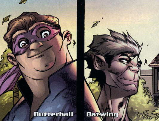 Batwing and Butterball's Team (Earth-616)