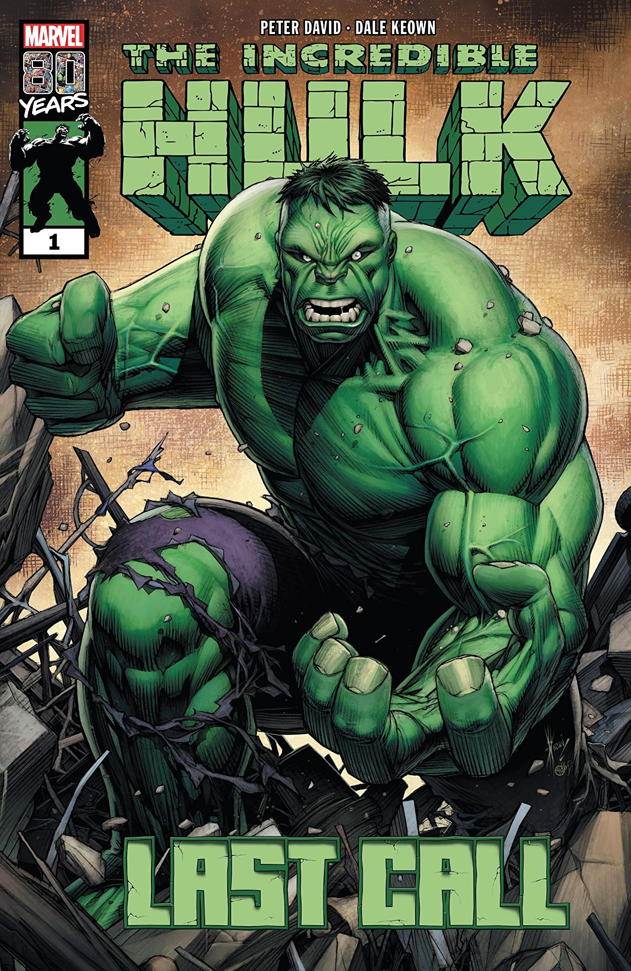 Incredible Hulk: Last Call Vol 1 1