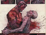 James Howlett (Earth-807128) and Bruce Banner (Earth-807128) from Wolverine Old Man Logan Giant-Size Vol 1 1 001