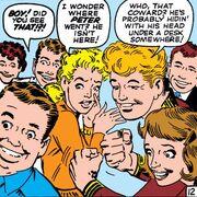 Jessica Jones, Elizabeth Allen and Eugene Thompson (Earth-616) from Amazing Spider-Man Vol 1 4 0001