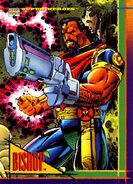 Lucas Bishop (Earth-1191) from Marvel Universe Cards Series IV 0001