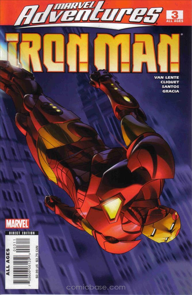 Marvel Adventures: Iron Man Vol 1 3