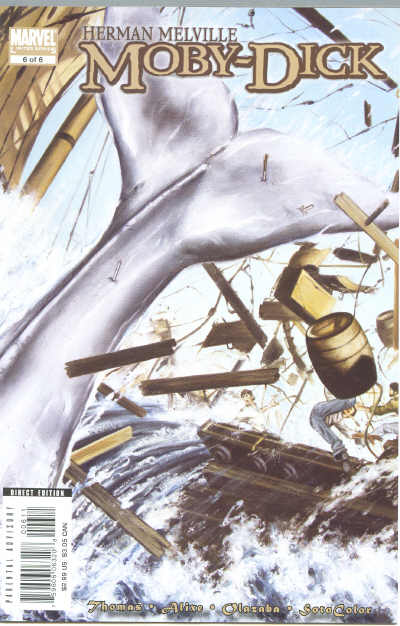 Marvel Illustrated: Moby Dick Vol 1 6
