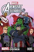 Marvel Universe Avengers Infinite Comic Vol 1 5