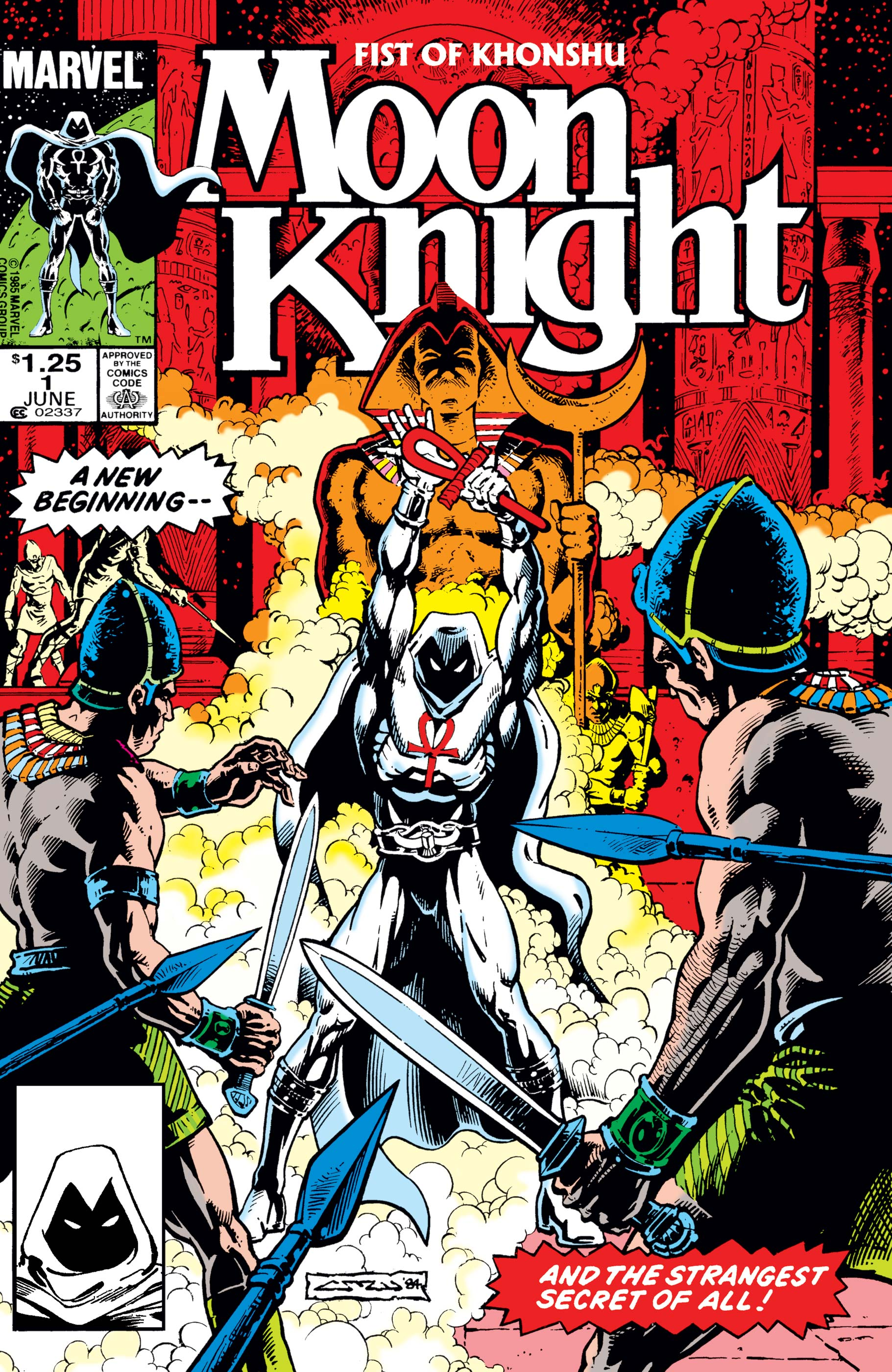 Moon Knight Vol 2 1