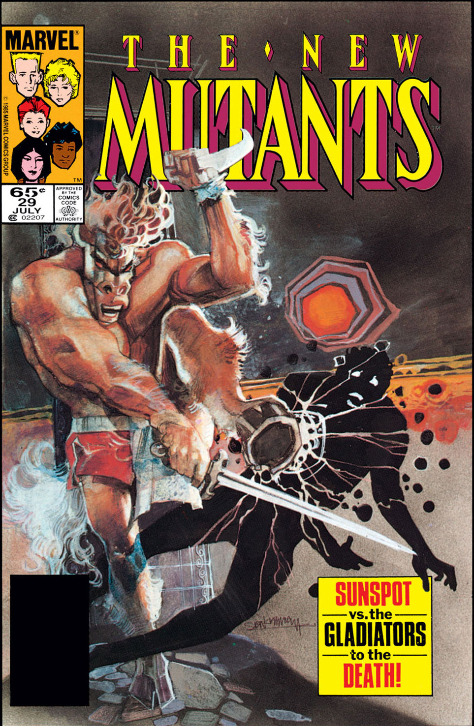 New Mutants Vol 1 29