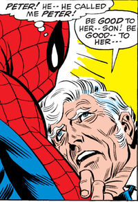 Peter Parker (Earth-616) and George Stacy (Earth-616) from Amazing Spider-Man Vol 1 90 0002.jpg
