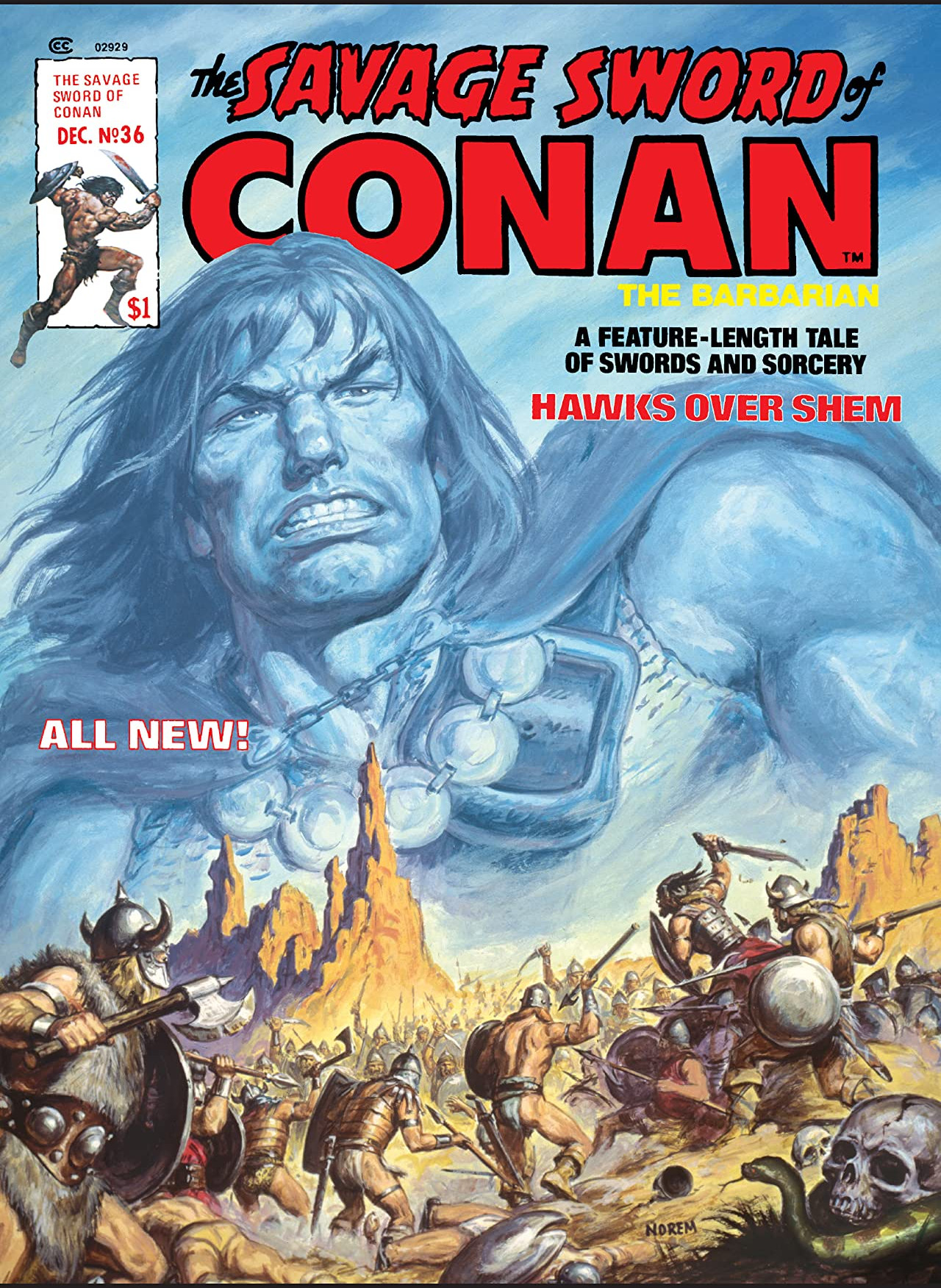 Savage Sword of Conan Vol 1 36