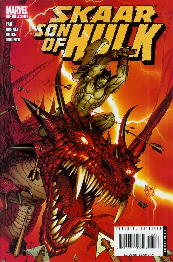 Skaar: Son of Hulk Vol 1 2