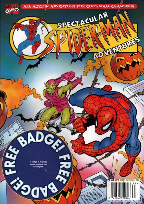Spectacular Spider-Man (UK) Vol 1 27