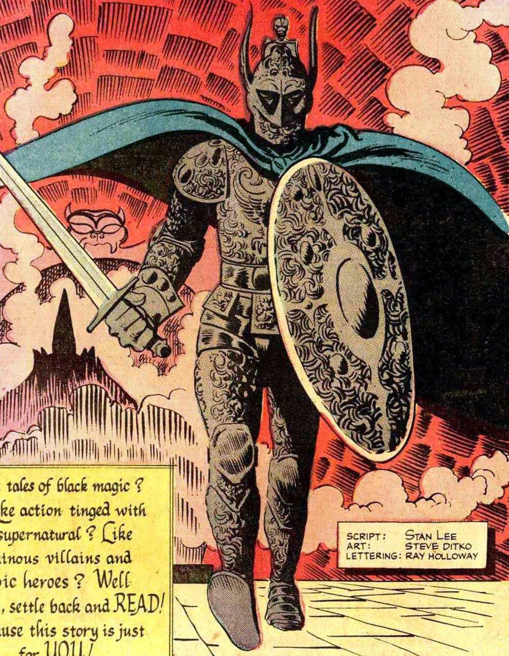 Strange Tales Vol 1 108 page 28 Black Knight (Animated Armor) (Earth-616).jpg