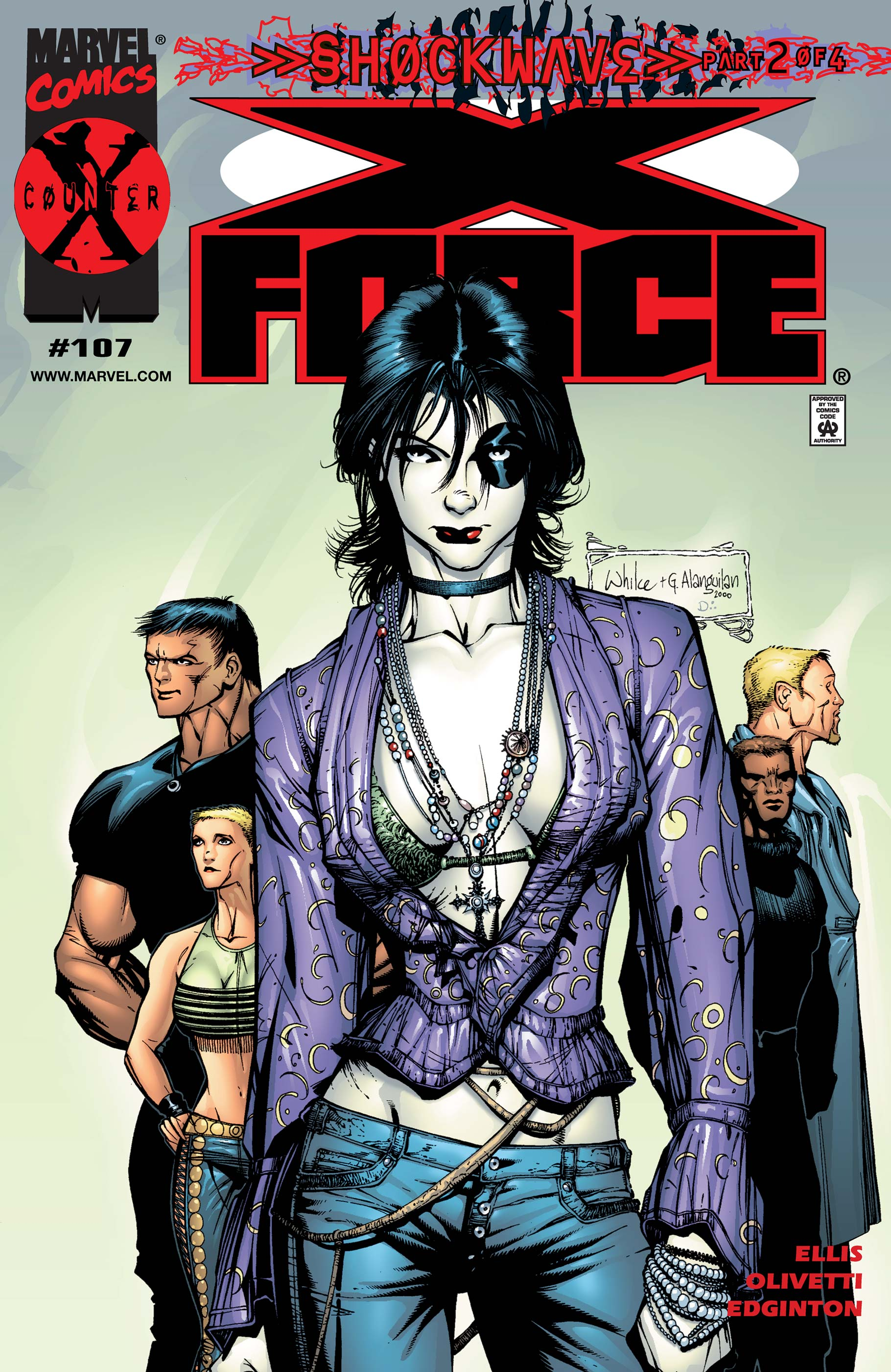 X-Force Vol 1 107
