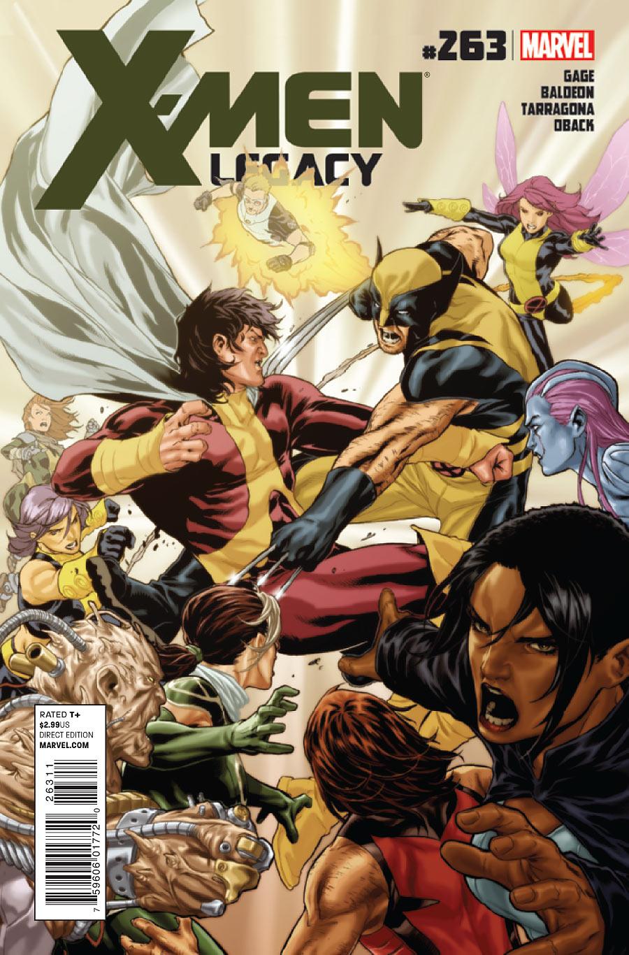 X-Men: Legacy Vol 1 263