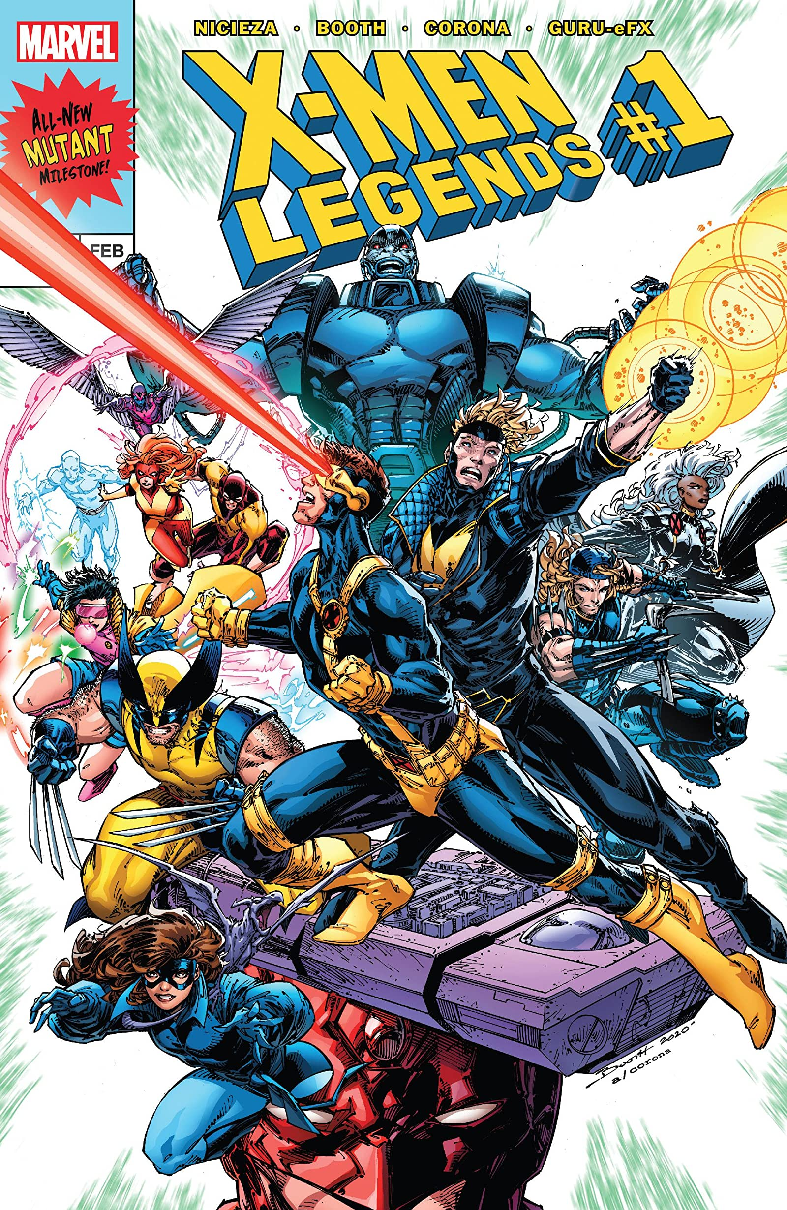 X-Men Legends Vol 1 1