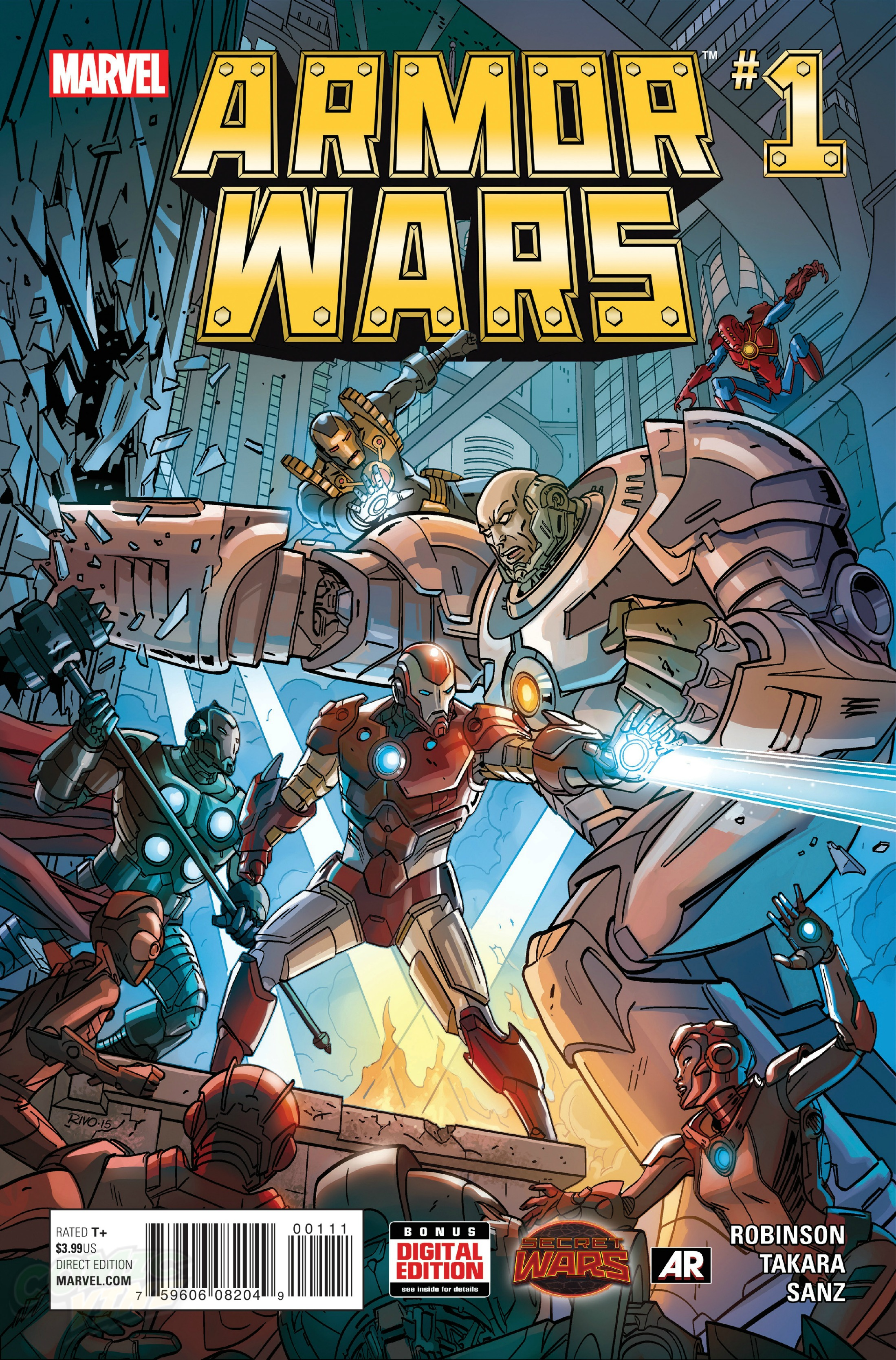Armor Wars Vol 1 1