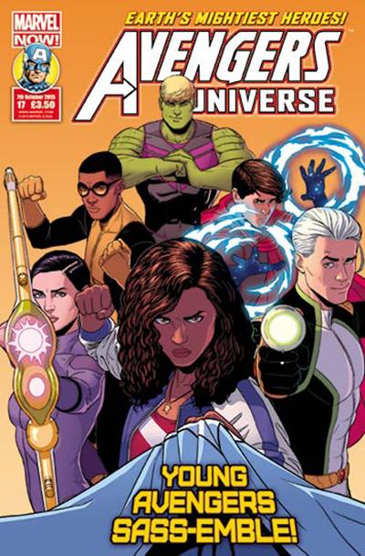 Avengers Universe (UK) Vol 1 17