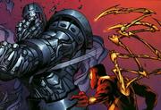 Boris Bullski (Earth-616) vs. Peter Parker (Earth-616) from Amazing Spider-Man Vol 1 531 001.png