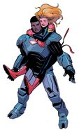 Carol Danvers (Earth-616) and James Rhodes (Earth-616) from Captain Marvel Vol 10 22 002
