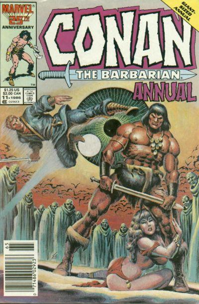 Conan the Barbarian Annual Vol 1 11