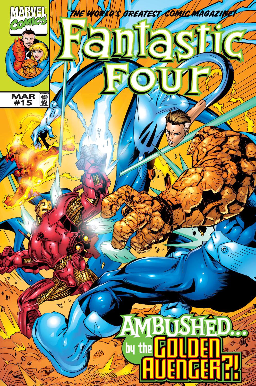 Fantastic Four Vol 3 15