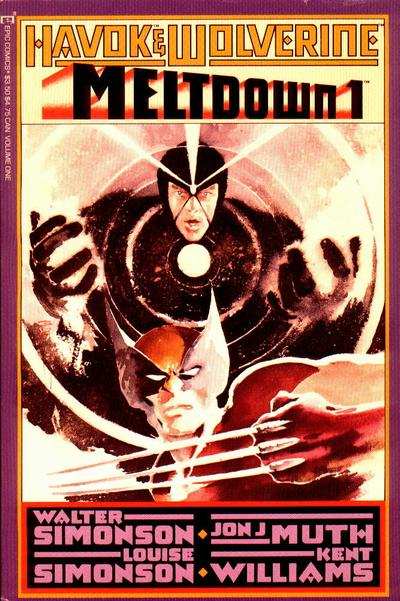 Havok and Wolverine Meltdown Vol 1 1